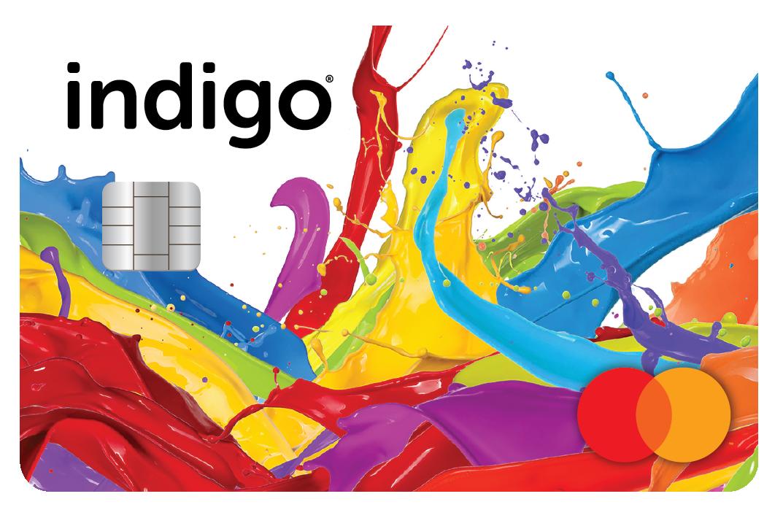 Indigo® Platinum Mastercard® Credit Card - DeluxCards.com
