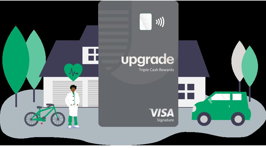 Upgrade Triple Cash Rewards Credit Card
